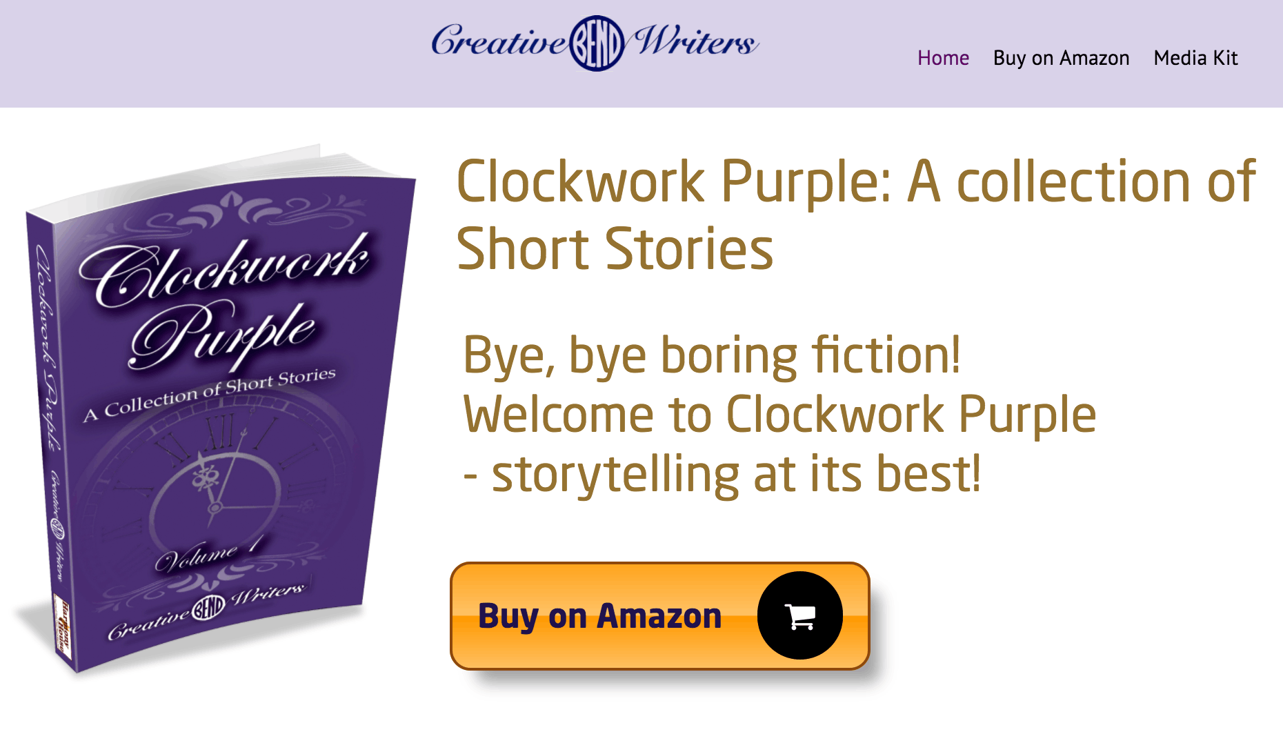 Clockwork Purple by Bend Creative Writers